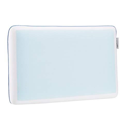 AmazonBasics Gel Memory Foam Kühlkissen, 60 x 40 x 12 cm