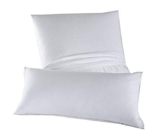 DORMISETTE Feinflanell - Schutzbezug für Kopfkissen in der Größe: 40 x 80 cm von Dormisette / Material: 100% Baumwolle / ACHTUNG: Es handelt sich um einen BEZUG!! - KEIN Kissen!!