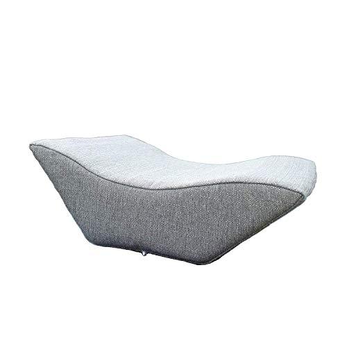 Lesekissen und Rückenstütze für optimale Sitzposition. Keilkissen, Rückenkissen, Fernsehkissen, Ergokissen, Farbe: Grau